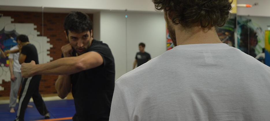Stage de combat scénique avec Kefi Abrikh à Bayonne