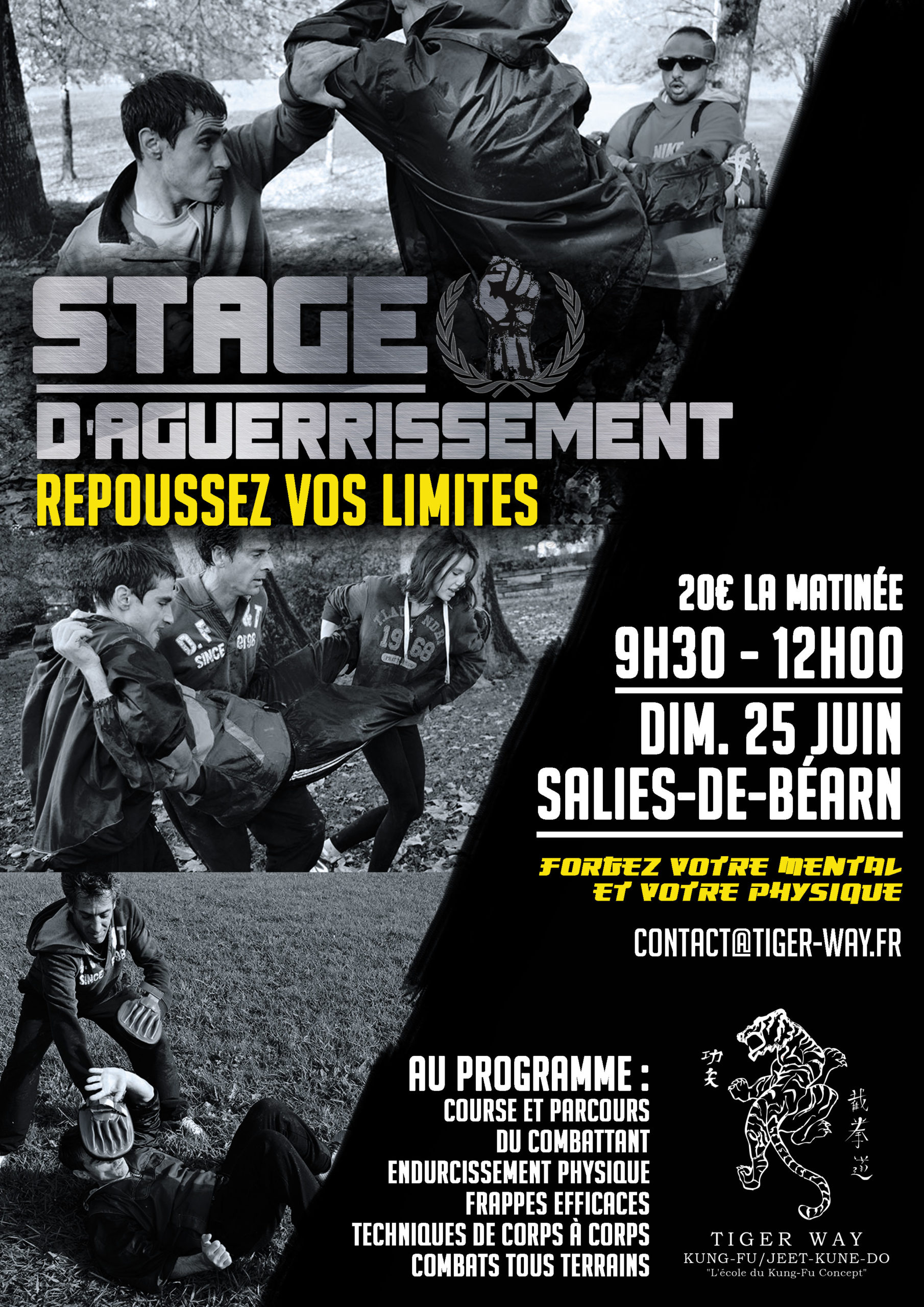 Stage d'Aguerrissement 25 Juin 2017 à Salies-de-Béarn