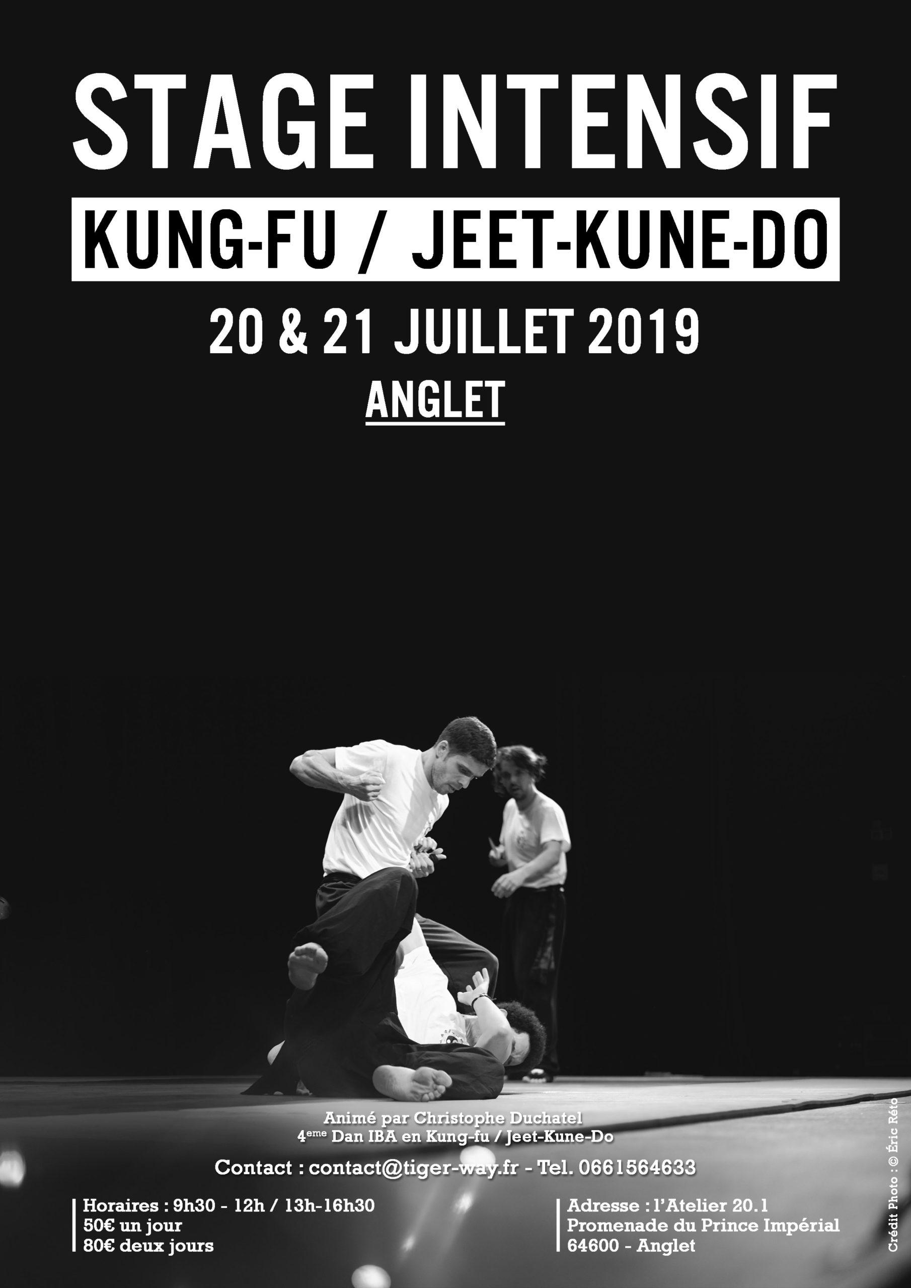 Stage Intensif de l'été 20 & 21 juillet 2019